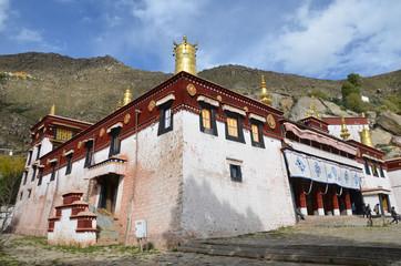 Тибет, монастырь Сера в окрестностях Лхасы, 15 век