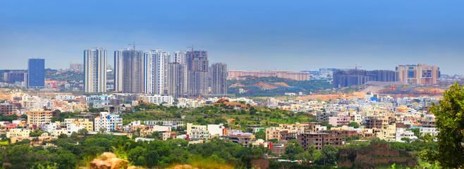 Hyderabad skyline