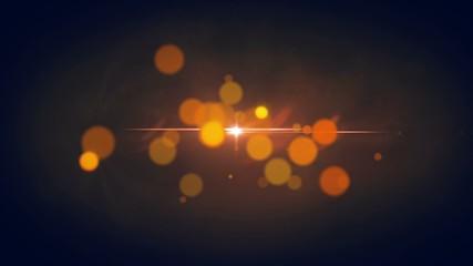Elegant Orange Background - Abstract Motion Looping Background