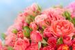 Englische Rosen, Schnittblumen, Blumenstrauß,  Floristik