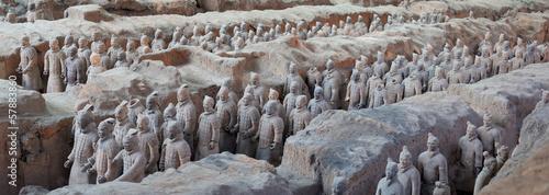 Fotobehang China Terracotta warriors in Xian, China