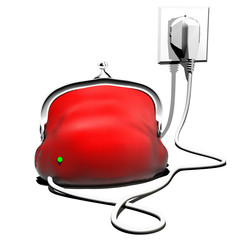 purse charging filling