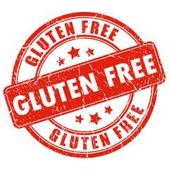 Gluten free vector stamp