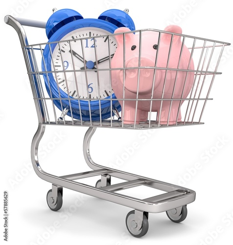 Zeit und Geld beim einkaufen sparen
