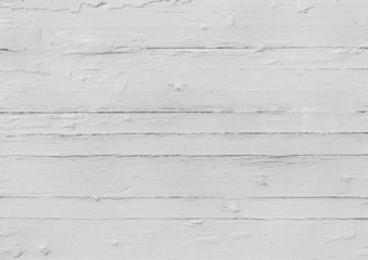 Painted white wooden plank texture - Stock Image