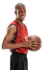Young Basketball Player Smiling