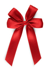red bow - isolated
