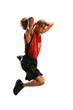 Basketball Player Jumping