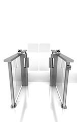 Ingresso, gate, metropolitana, tornelli, barriere