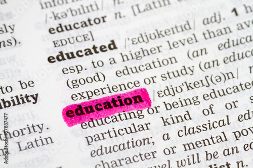 Education Dictionary Definition