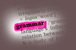 Grammar Dictionary Definition