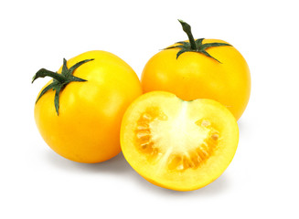 home grown yellow tomatoes