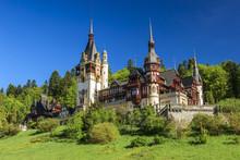 Célèbre royal de Peles château, Sinaia, Roumanie