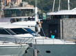 washing yacht