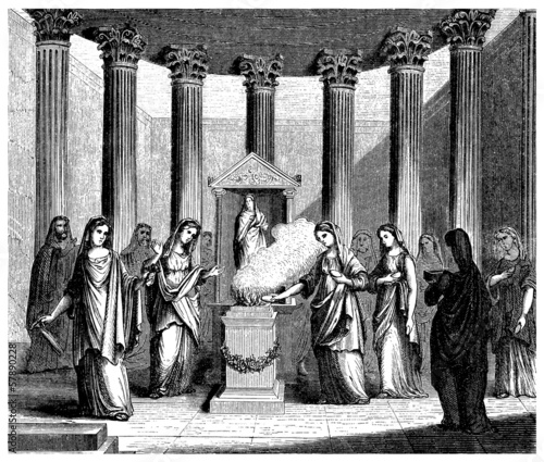 Ancient Rome : Vesta's Temple