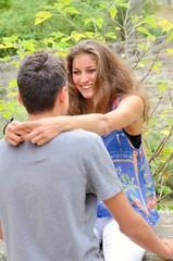 Adolescents amoureux