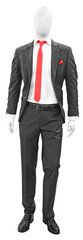 Black man suit