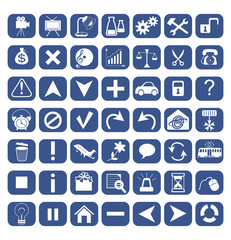49 icons for web design