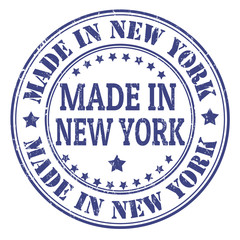 Made in New York stamp