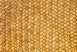 Retro woven bamboo wood pattern