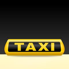 leuchtschild taxi II