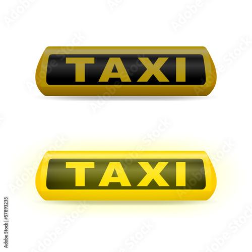 leuchtschild taxi IV