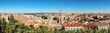 Aerial view of Burgos, Castilla y Leon, Spain