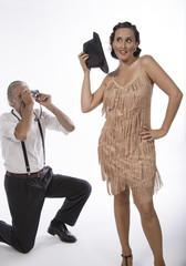 El fotógrafo y la corista