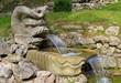 Leinwanddruck Bild - Springbrunnen - fountain 04