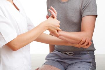 Hand and wrist examination