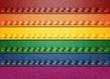Denim Rainbow flag