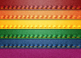Denim Rainbow flag