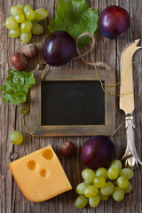 Cheese background.