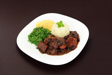 Brazilian Feijoada dish