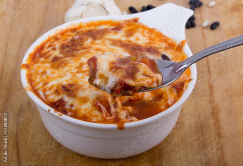 chili gratin