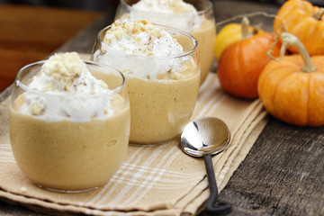 Three Pumpkin Smoothies