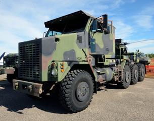 Modern army truck