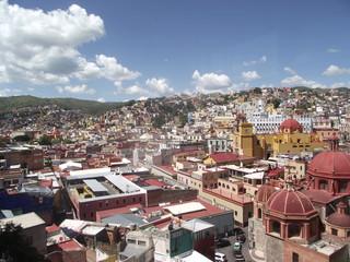 village mexicain vue des toits