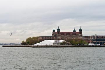 Ellis Island Immigration Museum in Ellis Island, New York, USA
