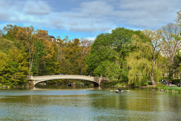 Central Park Lake, New York City, United States of America
