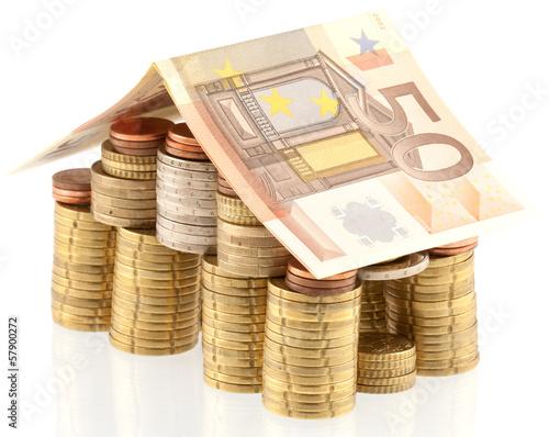 maison argent concept investissement immobilier