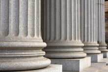 Colonnes de New York de la Cour suprême