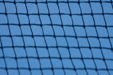 Tennis Court Net Shadow