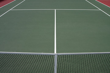 Tennis Court Beyond the Net