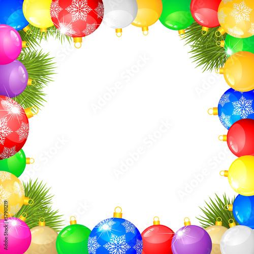 Christmas congratulations frame