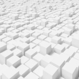 Architektonische Zuckerwürfel
