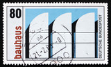 Postage stamp Germany 1983 Bauhaus Archives, Berlin poster
