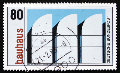 Postage stamp Germany 1983 Bauhaus Archives, Berlin