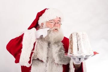 Babbo Natale gusta dolce
