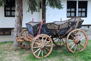Vintage Four-wheeled Cart